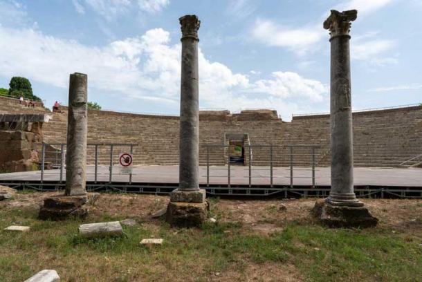 Marble from monuments at Ostia Antica was taken by medieval builders to be re-used. (Ioannis Syrigos)