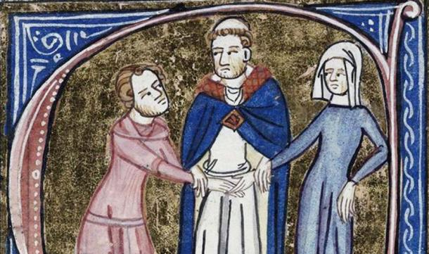 """Under the concept of """"marriage debt"""", married people were obliged in medieval times to have sex with their spouse whenever he or she requested it. (Real Crusades History / Youtube)"""