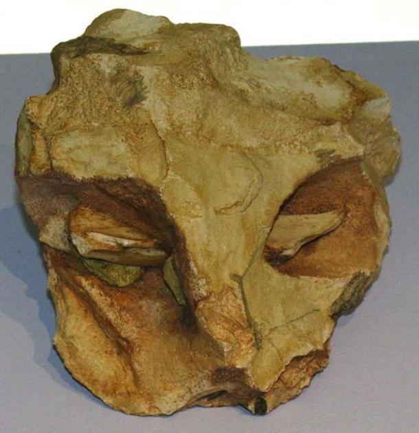 The mask of la Roche-Cotard.