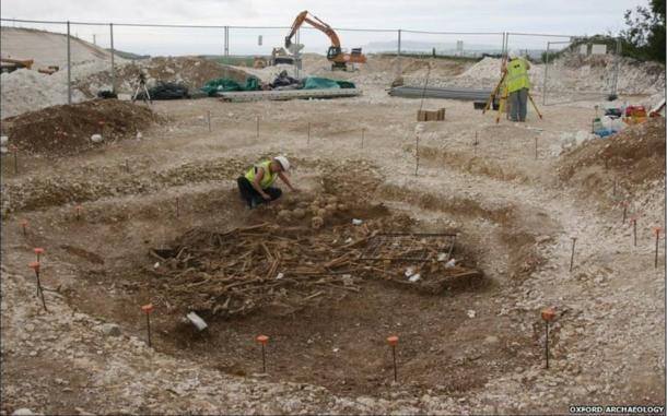 The mass grave of headless Vikings found in Dorset
