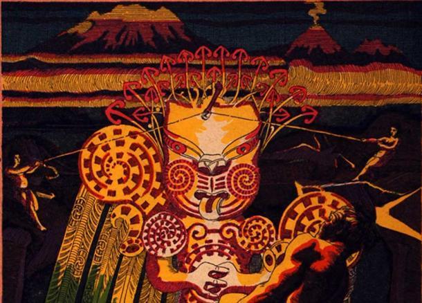 A. W. Reed. Maui: Legends of the Demigod of Polynesia. Wellington: A. H. & A. W. Reed, 1943. (Deriv.)
