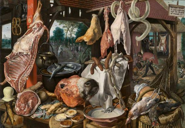 Eating large quantities of meat may only have occurred in the last 1,000 years