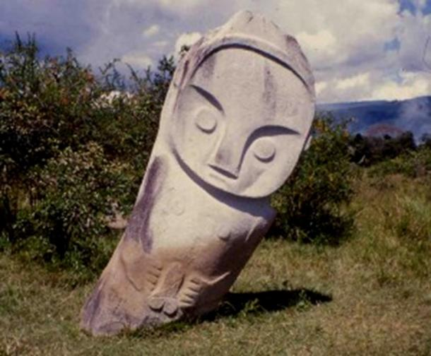 One of the megaliths in the Bada Valley.
