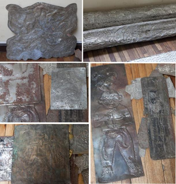 ome of the metallic carvings were more complex, depicting strange figures, pyramids, suns, and geometric designs, just as Däniken had reported, but they still looked like little more than modern-day carvings on cheap metal.