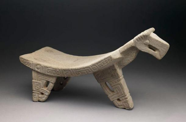 An example of a ceremonial metate. This one is from the Nicoya culture of Costa Rica, 300 – 700 AD.