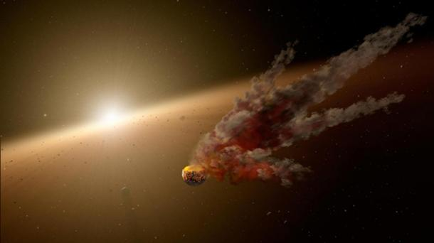 Iron from meteorites may have been given importance due to the power of this natural phenomena