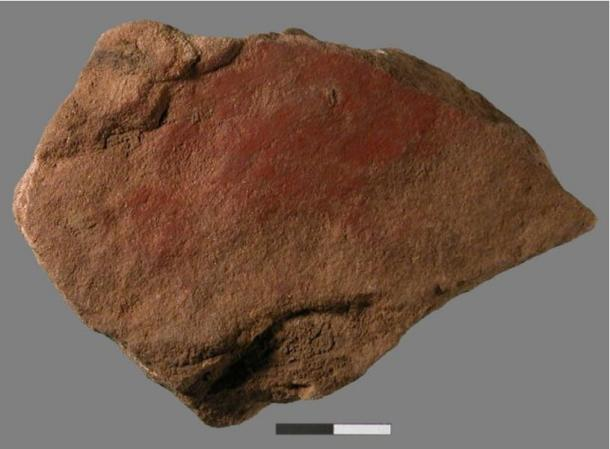 An international research team led by the University of Colorado Boulder and the University of Witwatersrand in Johannesburg, South Africa, has discovered a milk-and ochre-based paint on a small stone flake dating to 49,000 years