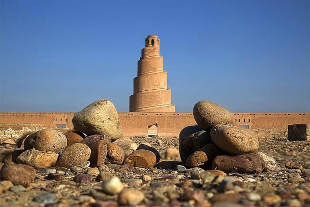 The minaret of the Great Mosque of Samarra. (Taisir Mahdi / CC BY-SA 4.0)