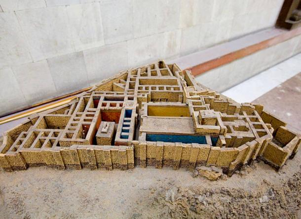 A model of the Erebuni Fortress