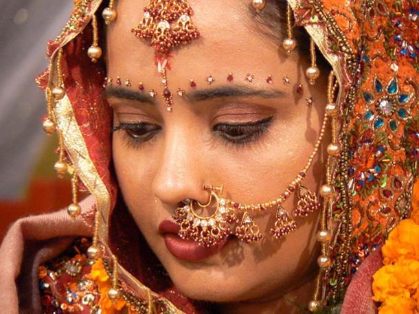 A modern bride.