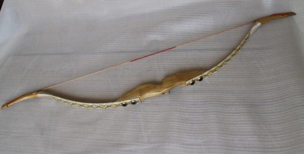 Example of a modern recurve bow.