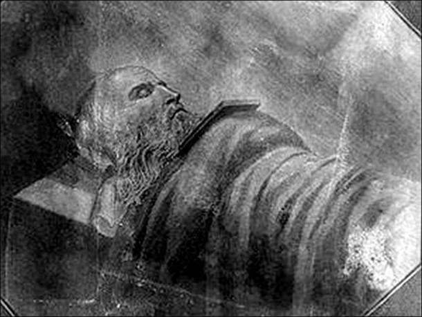 Tsar Alexander I and monk Feodor.