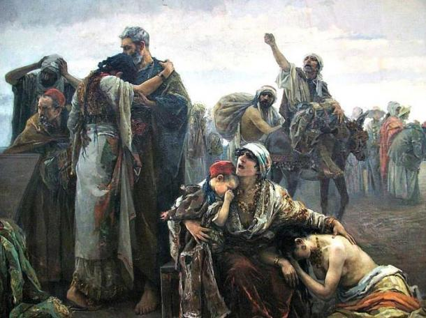 The expulsion of the Moors (1894), by Gabriel Puig Roda