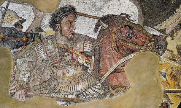 A mosaic of Alexander the Great in battle from the House of the Faun, Pompeii, Italy. (Public domain)