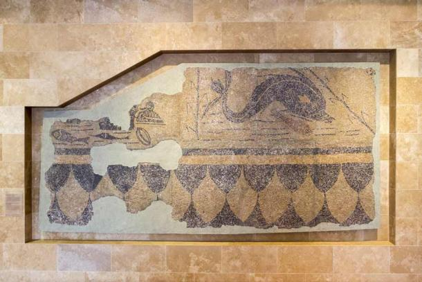 Example of mosaic unearthed in the ancient Roman city of Aquincum. (skovalsky / Adobe Stock)