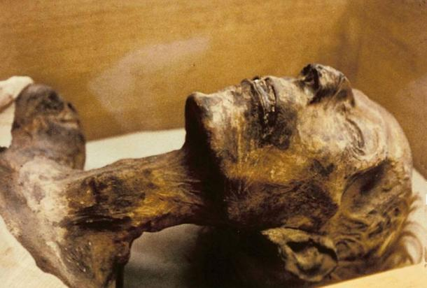 The mummy of Ramesses the Great in Cairo Museum, Egypt