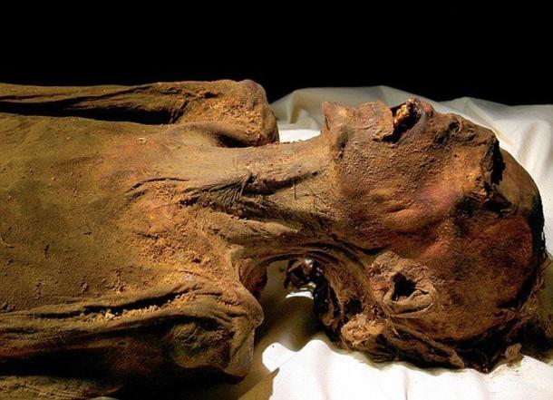 The mummy of Unknown Man E.