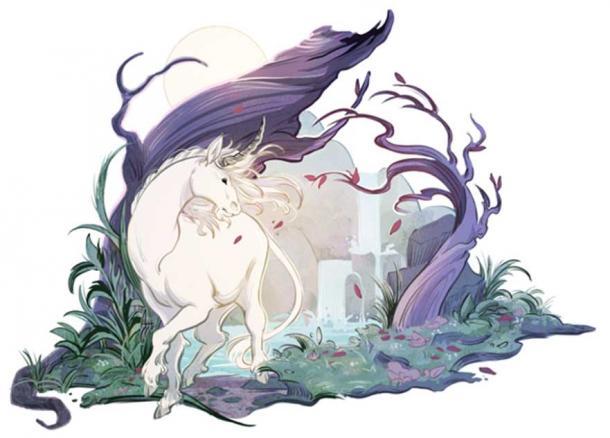 The mythical unicorn.
