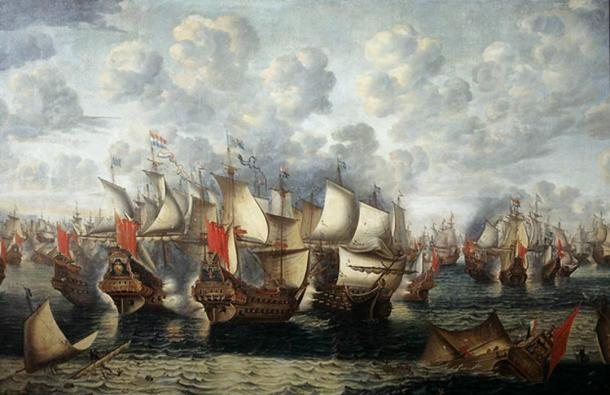 The naval Battle of the Sound took place on 8 November 1658 during the Dano-Swedish War.