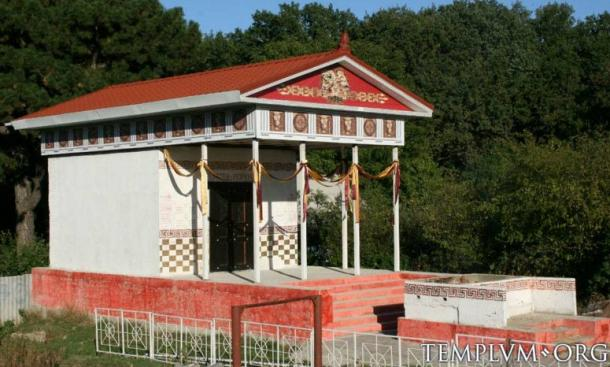 Initial development of the new Iuppiter Perunus temple