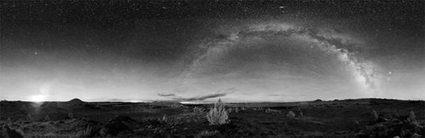 """""""Lava Beds is a favorite spot for star watchers and night photographers as the heavens can be seen with exceptional clarity and depth here, there is no haze or light pollution."""""""