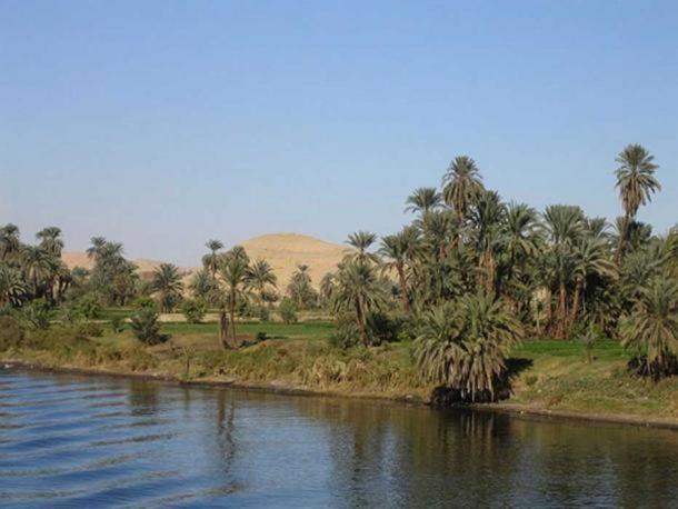 The Nile River from a boat between Luxor and Aswan.