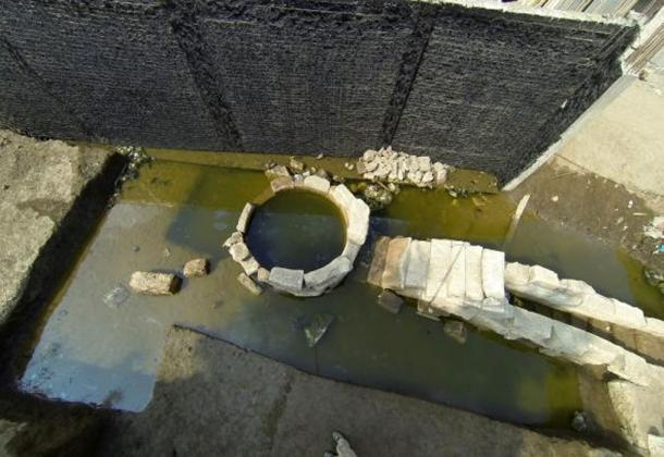 Archaeologists believe the nilometer may have been part of a temple complex on the banks of the Nile, which has since changed course.