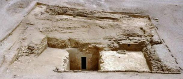 Entrance to the Nisemro tomb in Luxor