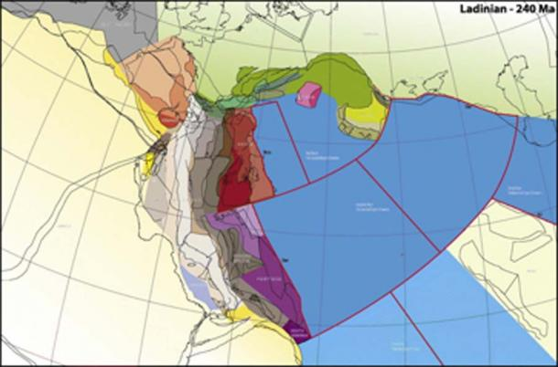 Rather than simply moving north with no change in its orientation, Greater Adria spun counterclockwise as it jostled and scraped past other tectonic plates. (Science Direct)