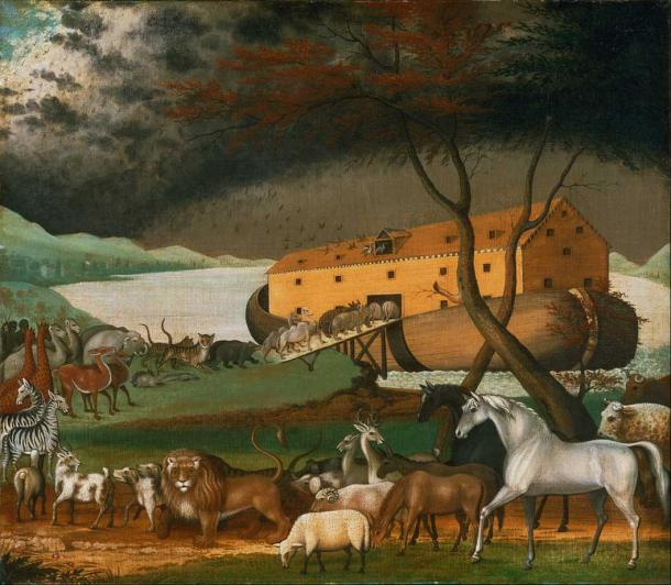 The Bible story of Noah's Ark. (DcoetzeeBot / Public Domain)