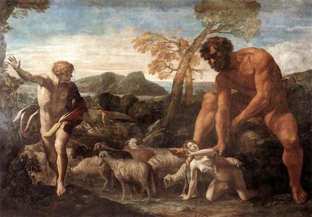 The Old Testament shares stories about giants taking human women. (JarektUploadBot / Public Domain)