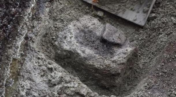 This is the oldest known footprint in North America, discovered on Calvert Island in British Columbia and dating back more than 13,000 years ago.
