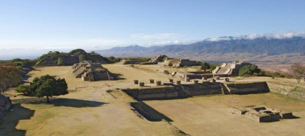 The Olmec/Zapotec center, Monte Alban, near the city of Oaxaca, Mexico