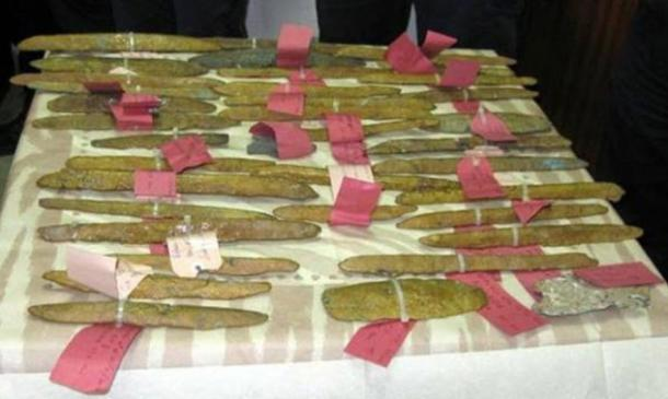 The orichalucum ingots found off the coast of Gela in Sicily