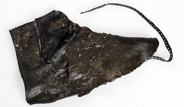 One of the most complete shoes from this time period found at the Ørland site.