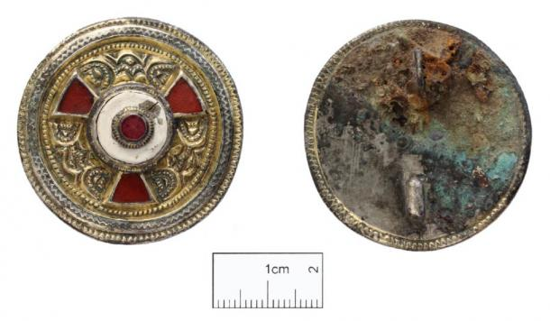 This ornate brooch was probably a gift from the Kentish Royal Family. (Image: Canterbury Trust)