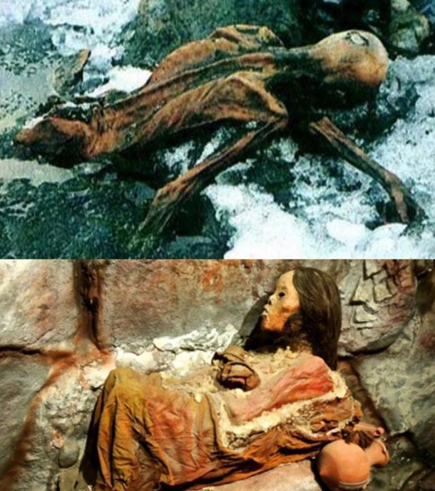 Ötzi and Mummy Juanita.