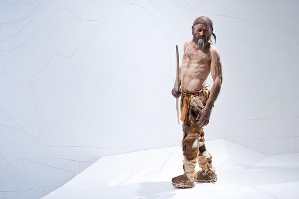 Reconstruction of Ötzi the Iceman by Kennis (c) South Tyrol Museum of Archaeology/foto-dpi.com (CC BY-NC-ND 2.0)