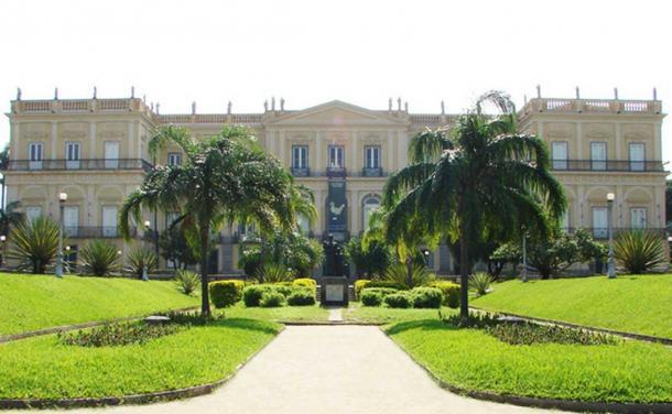Paço de São Cristóvão, former imperial palace of the Emperors of Brazil was home to the National Museum of Brazil. (CC BY 2.0)