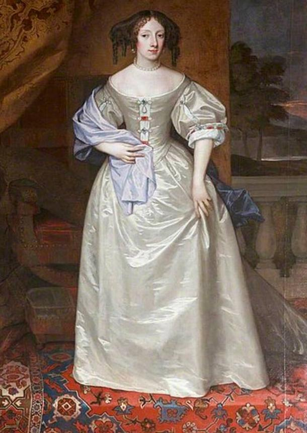A posthumous painting of Princess Henrietta commissioned by her brother King Charles II.