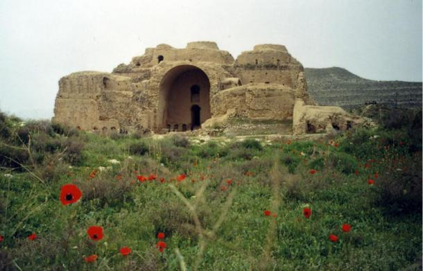 The palace of Ardashir of ancient Persia, built in AD 224 by King Ardashir I of the Sassanian Empire.