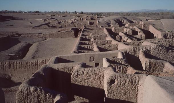Part of the Paquimé (Casas Grandes) site, Mexico.