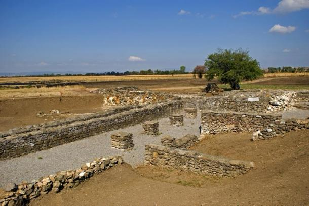 Part of the Roman ruins that have been excavated in Ulpiana. (nyiragongo / Adobe Stock)