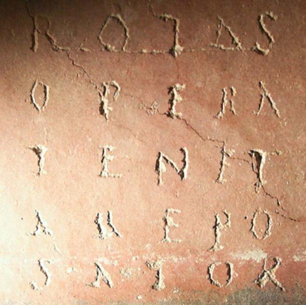 Pattern Poetry - sator square. (Vicpeters / CC BY-SA 3.0)