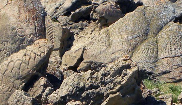El arte rupestre más antiguo en América del Norte