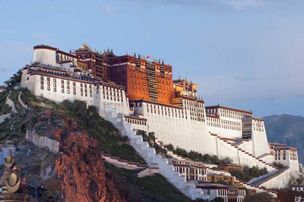 A photo of Potala Palace, Tibet