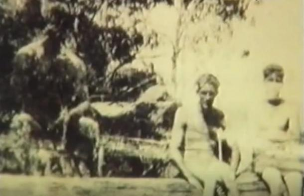 The mysterious photograph taken by Rich Jones in Batlow, New South Wales that some say was a Yowie (1932)