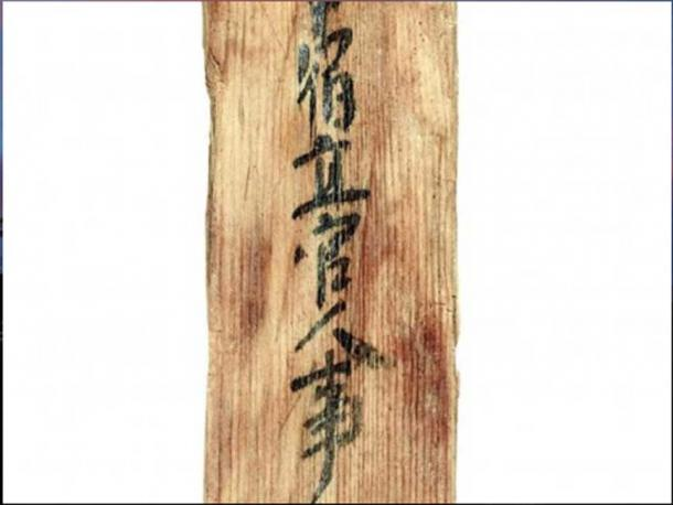 The piece of wood was discovered in the 1960s but as only now been fully analyzed.