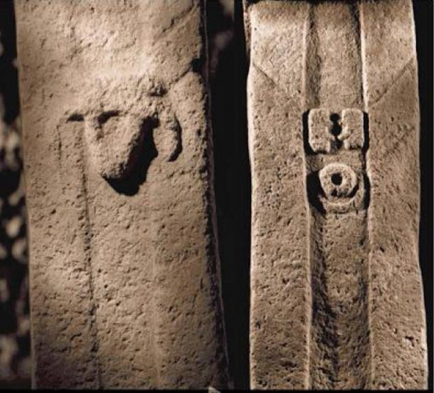 Many of the pillars at Göbeklitepe are engraved with symbols.