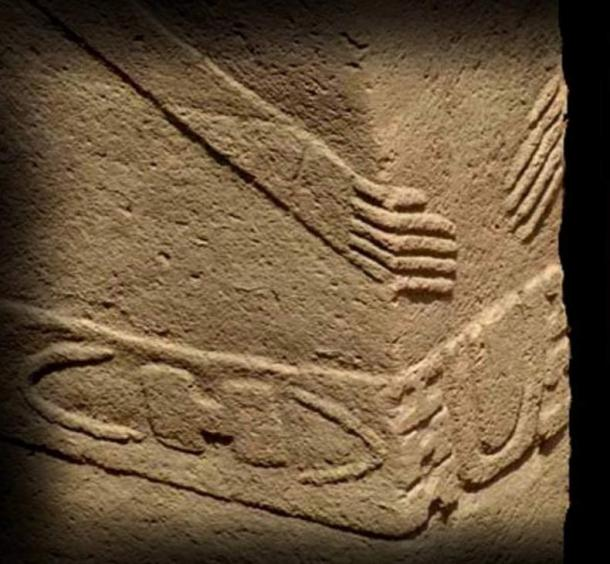 "The pillars at Göbeklitepe depict the ""H"" sign"